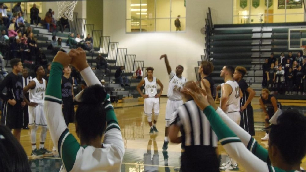 Wakefield's Halil Parks prepares to shoot a free throw in the Warriors' 77-46 victory.
