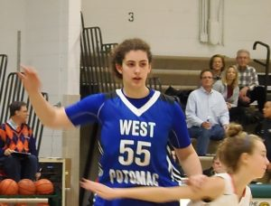 West Potomac's Natalie Terwilliger produced double-doubles consistently.