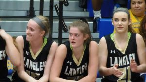Elizabeth Bucy (center) was one of several unsung heroes for Langley.