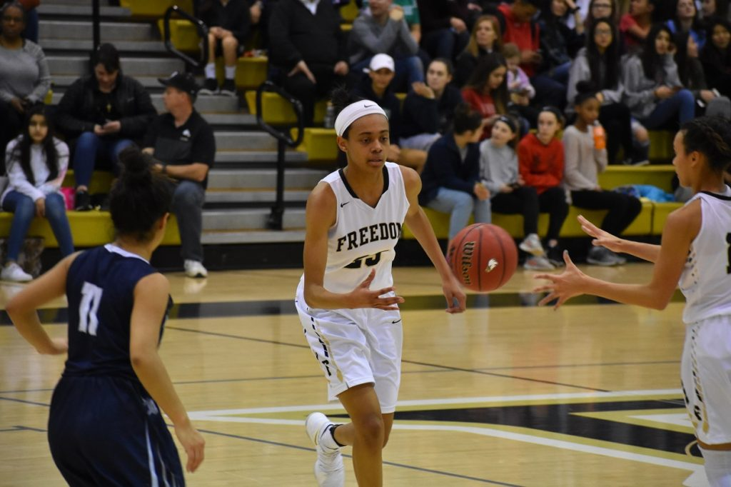 Junior Jaelyn Batts (above) recently committed to the University at Albany.