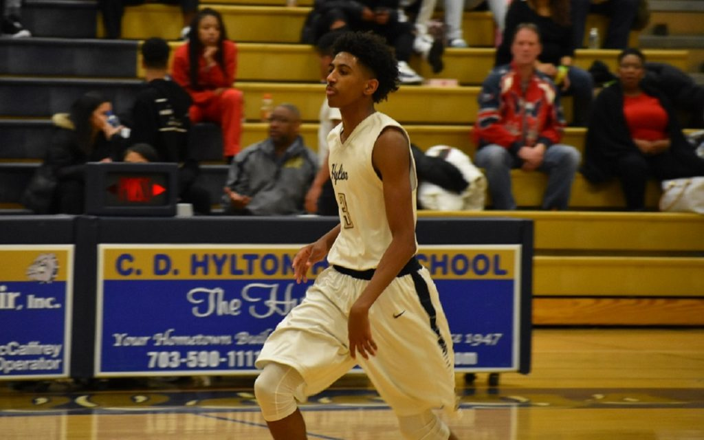 Hylton's Marcus Stephens poured in points for the Bulldogs in 2017-2018.