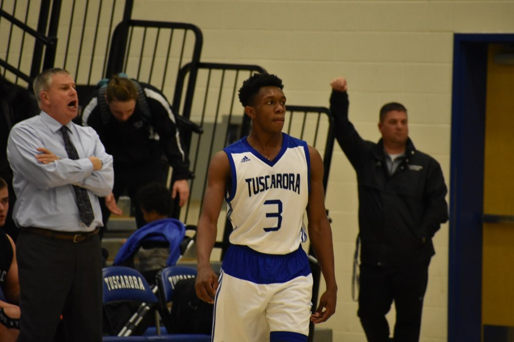 Tuscarora's Alex Bailey concludes his career as the school's all-time leading scorer.