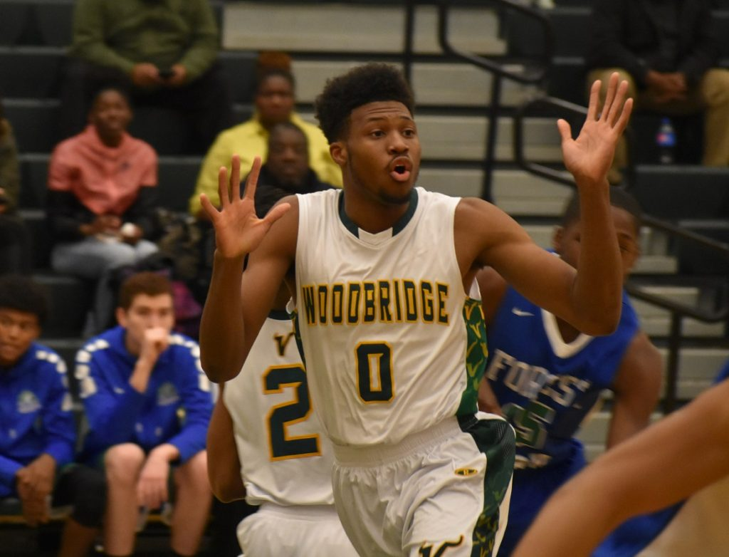 "Woodbridge's ""Flip"" Hopkins did it all for the Vikings this season."