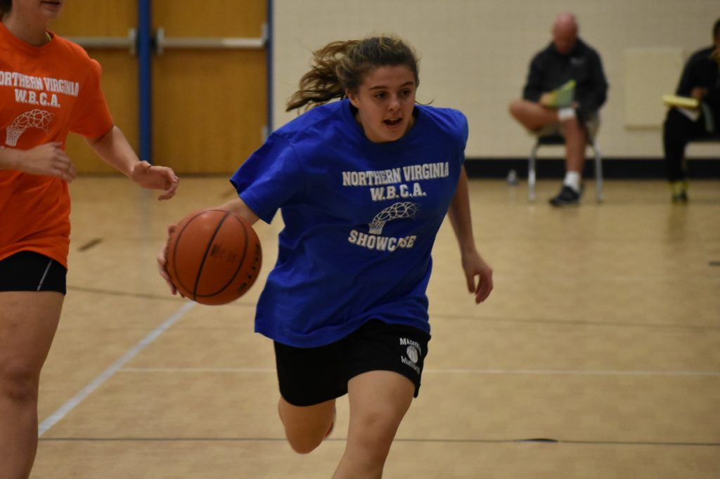 Amalia Makrigiorgos is one of several Madison players who appear much improved.