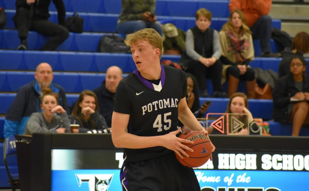Potomac Falls' Ian Anderson is a 20/10 guy for Jeff Hawes' team.
