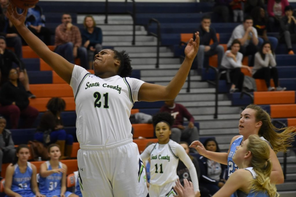 South County's Nelliah Wilson sparked her team in the third quarter.