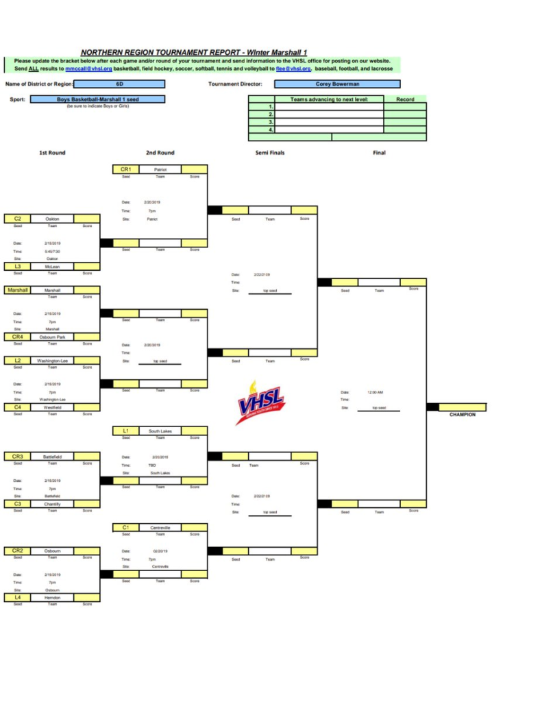 The 6D Boys bracket.