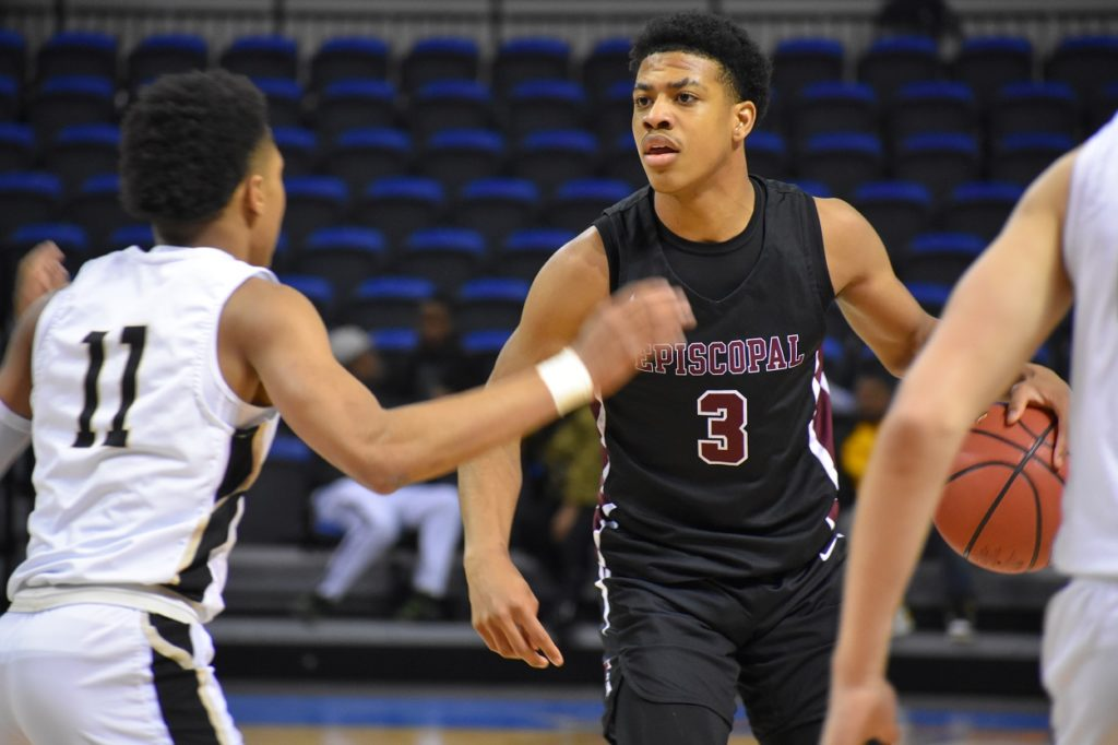 Episcopal's Darius Johnson figures to draw heavy DI interest shortly.