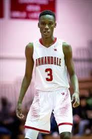 Annandale's Max Lanham hit five threes in one game versus Mount Vernon.