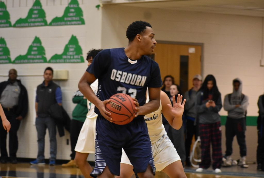 Osbourn's Jon Hylton was a strong leader on both ends of the court.