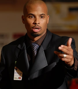 New Champe coach Walter Webb. (Photo Slam City website)