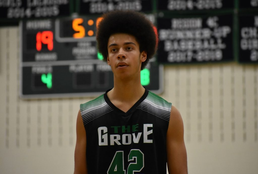 Woodgrove's Brock Redman is one of the area's best big men.