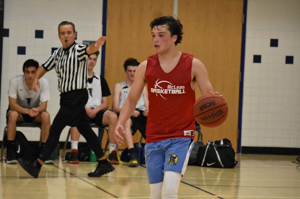 McLean's Randy Shephard is back after an injury-plagued 2018-2019.