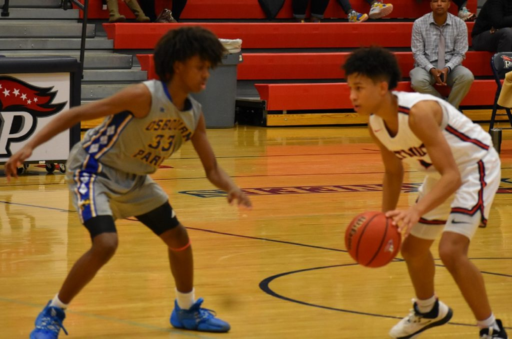 Junior guard Trey Nelson (right) had 15 points and seven second half free throws.
