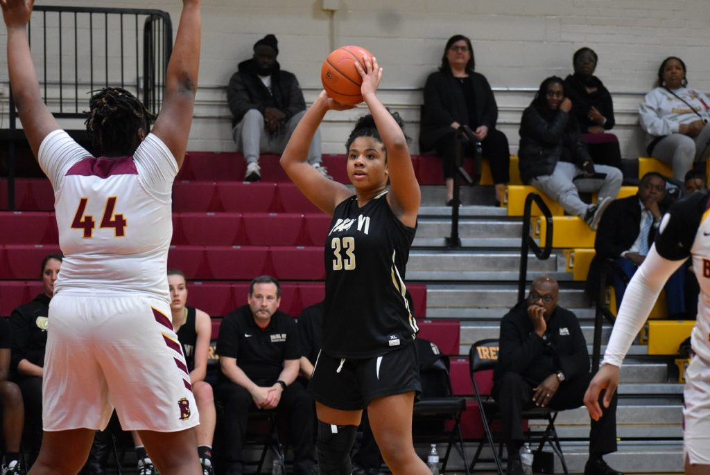 Talley not only anchored her team's defense, she led the Panthers in scoring.