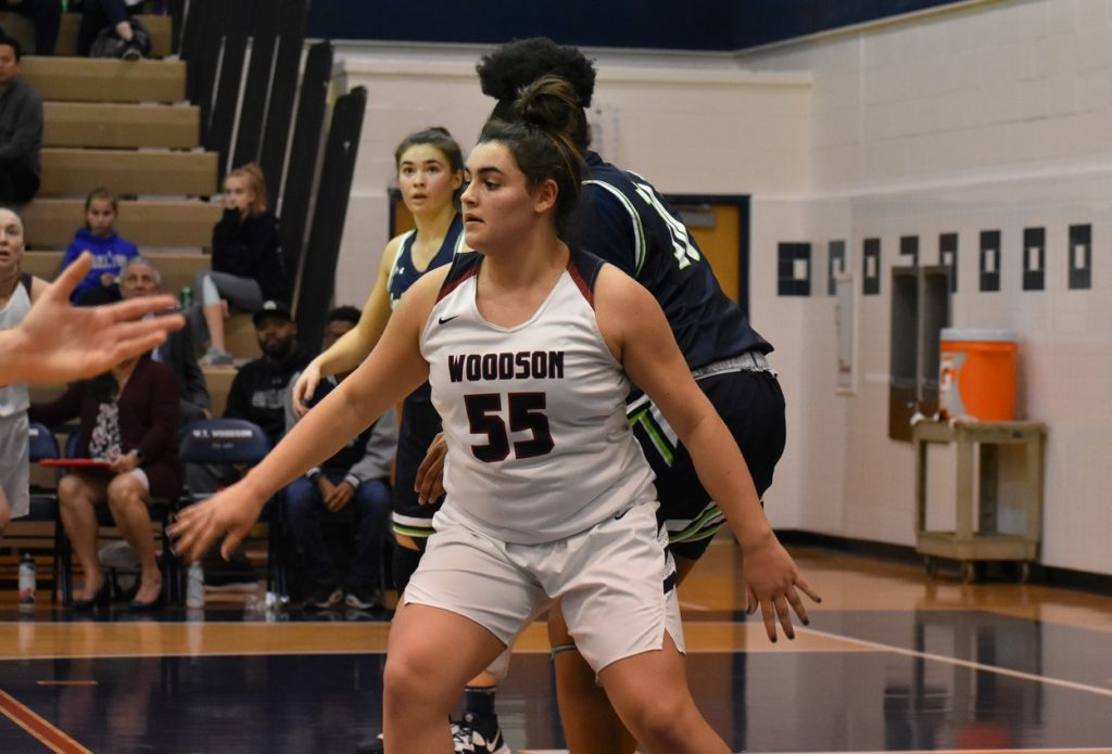 Abby Pesansky went for 13 points, 12 rebounds in the victory.