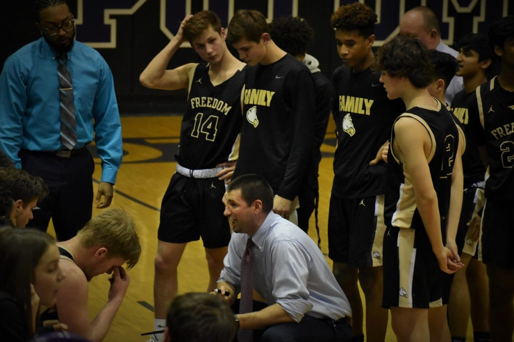 Coach Powers and FSR still have to win two more, but controls their own destiny in the Potomac District.