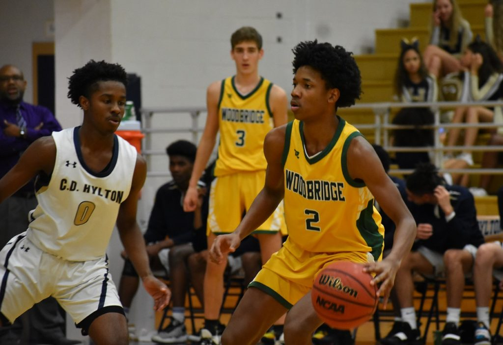 Woodbridge's Mekhi Mims committed last year, which pleased Shenandoah greatly.