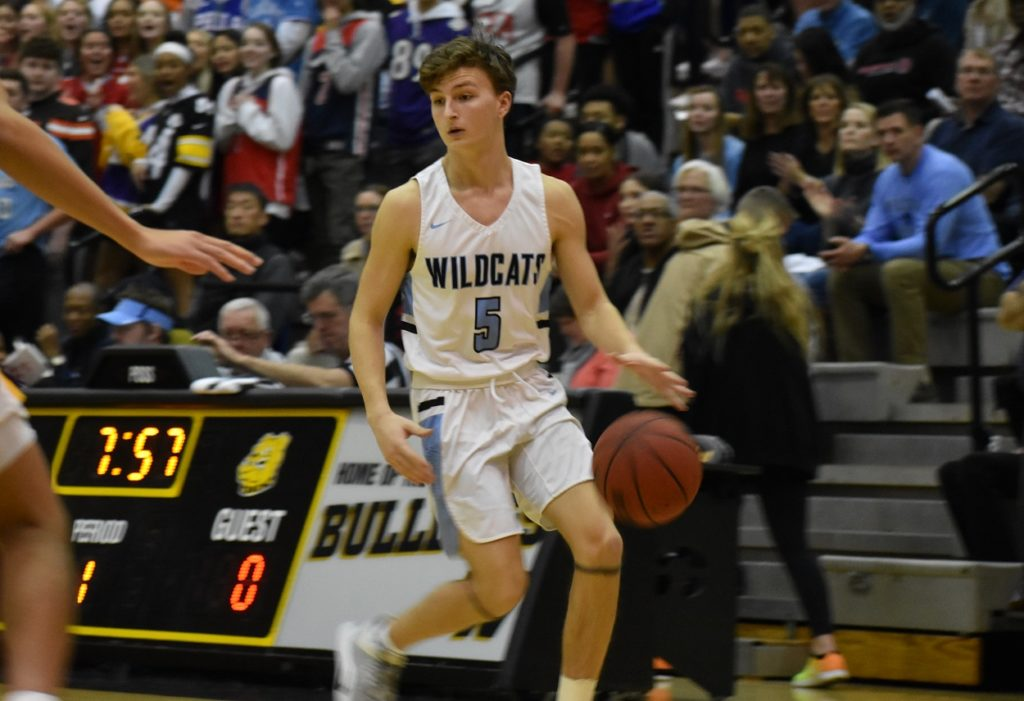 Senior John Hunter had the ball in his hands to start the game, but more importantly, at the end.