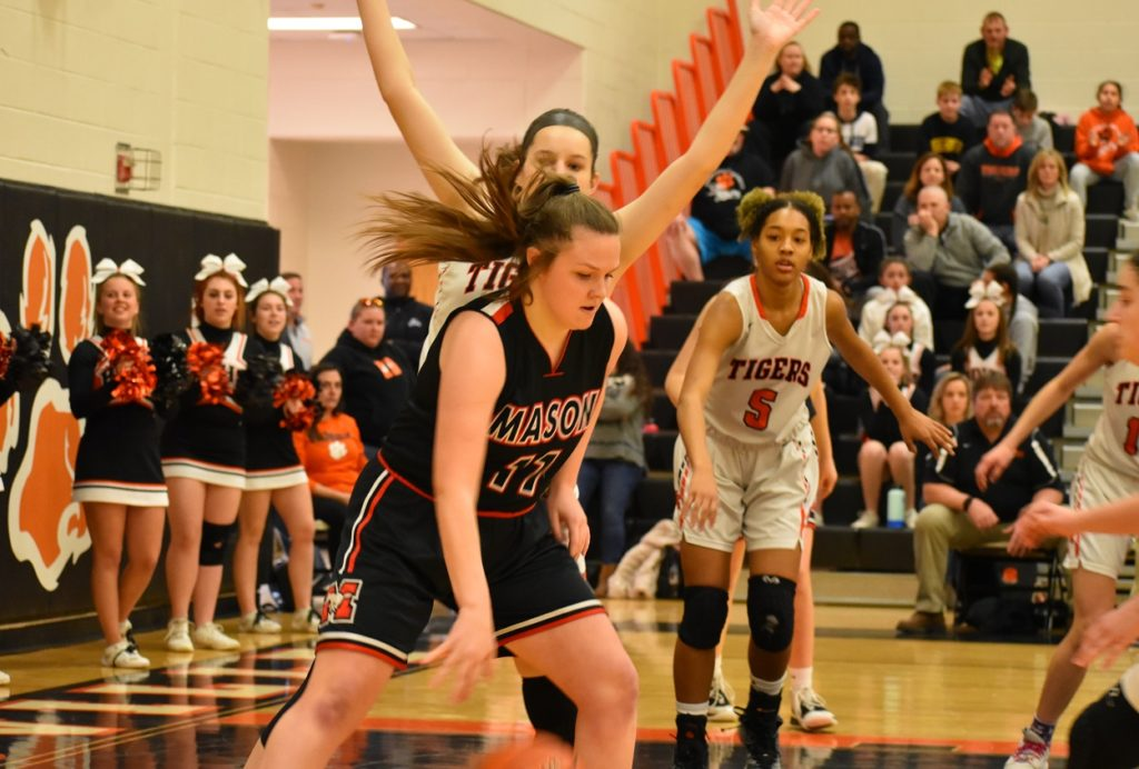 Mason's Emma Rollins didn't shoot much, but when she did she made it count.