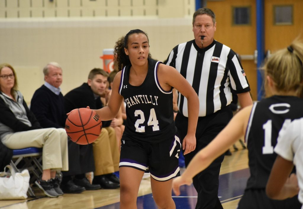 Chantilly's Sara Huffman displayed impressive offensive efficiency for a freshman.