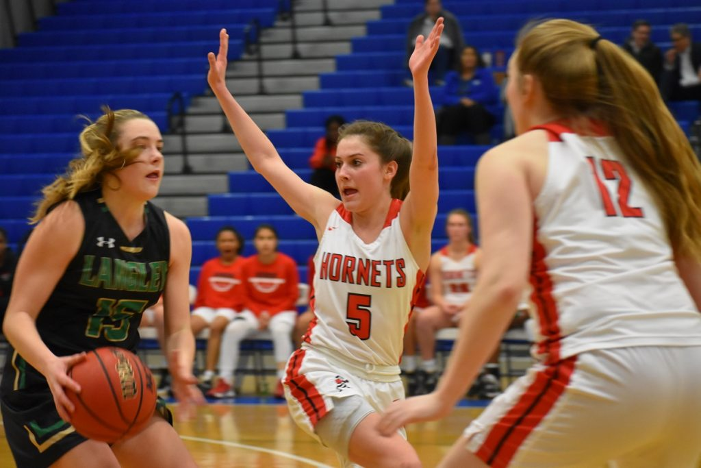 Herndon's Mackenzie Koch is a pest defensively, and has a knack for the game-winning hoop.