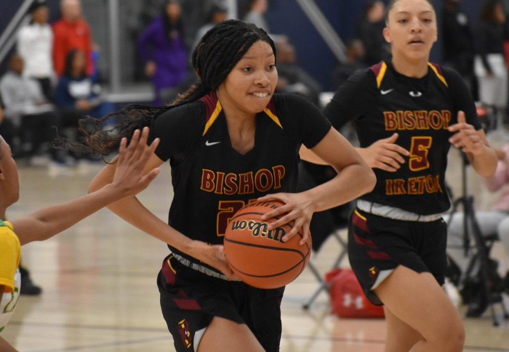 Ireton's Kennedy Clifton has good length, and an ability to score inside and out.