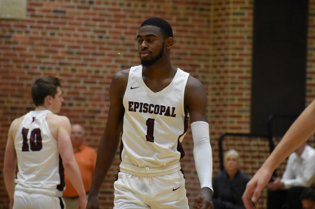 Episcopal's Tymu Chenery can finish with a flourish, to say the least.
