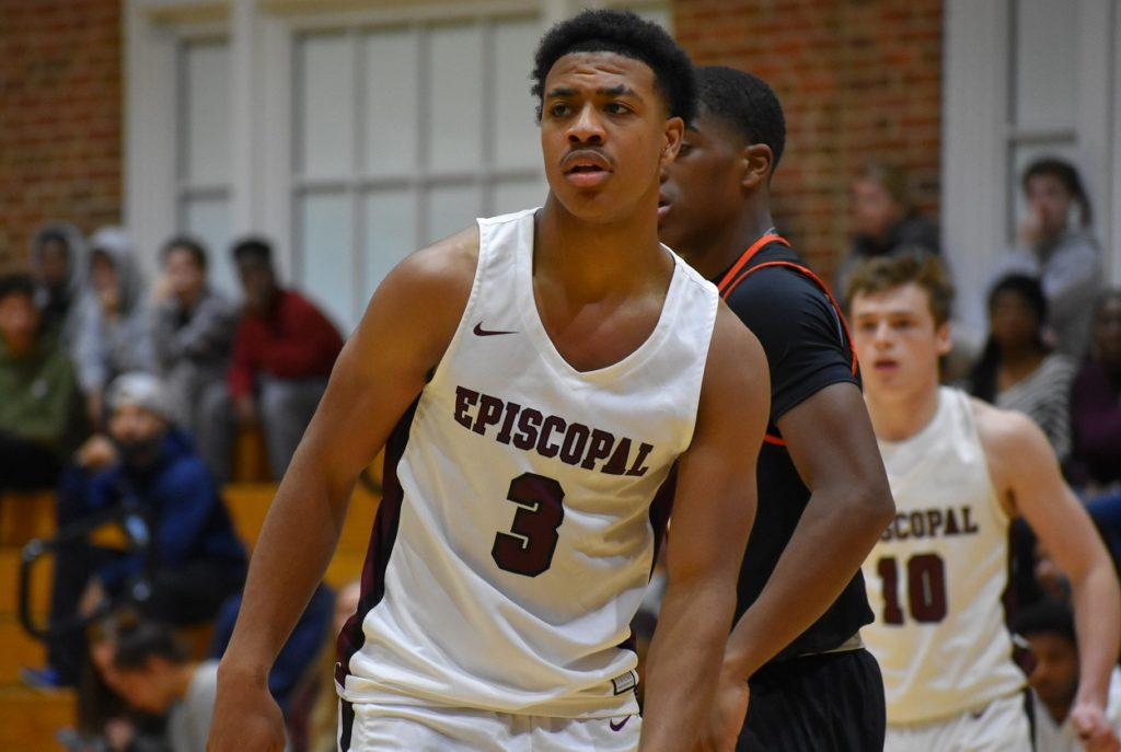 Episcopal's Darius Johnson can get his shot off in tight quarters, and is almost unstoppable in the open court.