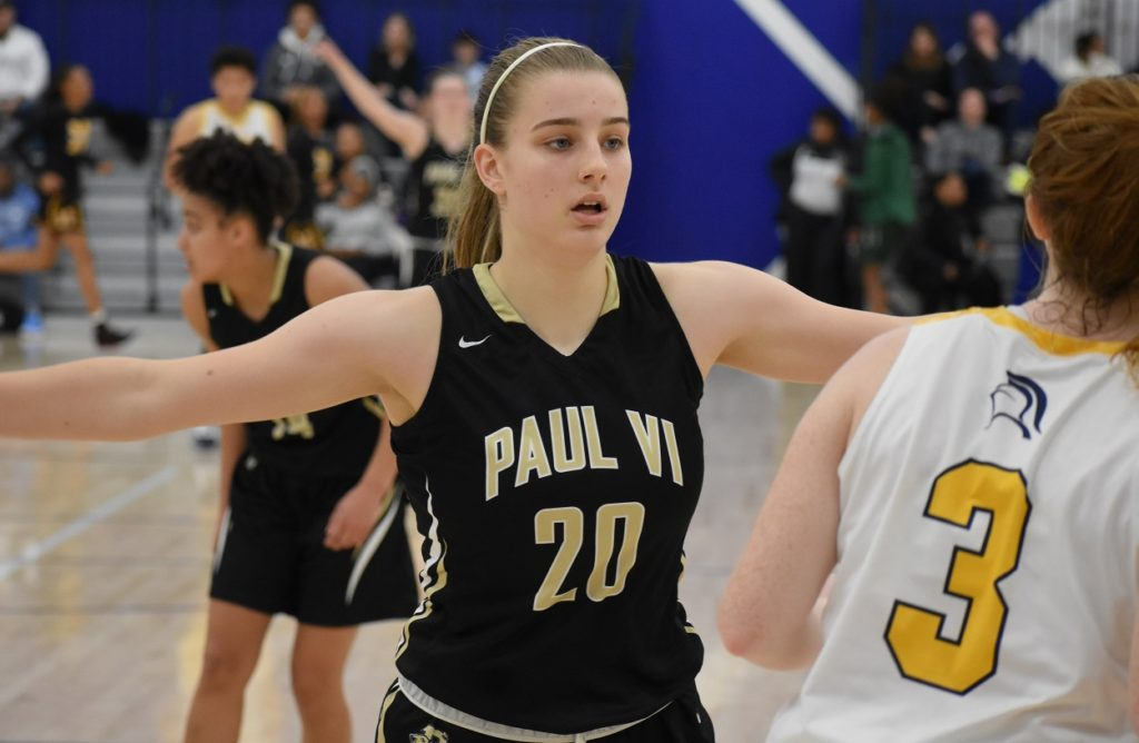 Paul VI's Lee Volker was named the co-Player of the Year in the powerful WCAC.