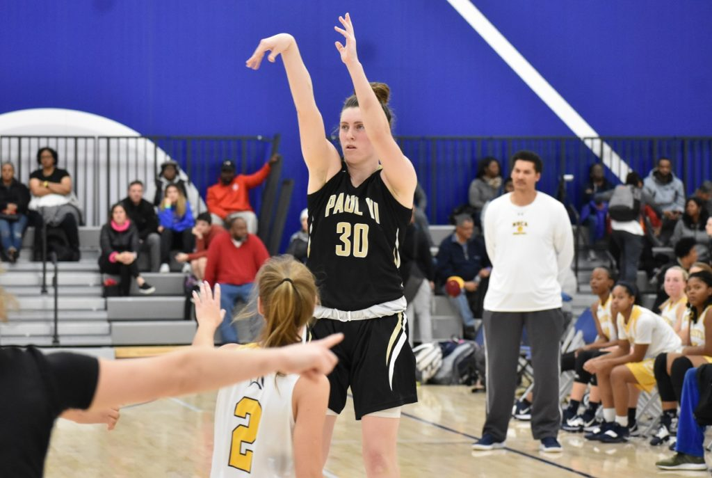 With her size and shooting ability, the Vikings feel they got a good one in PVI's Meghan Kenefick.