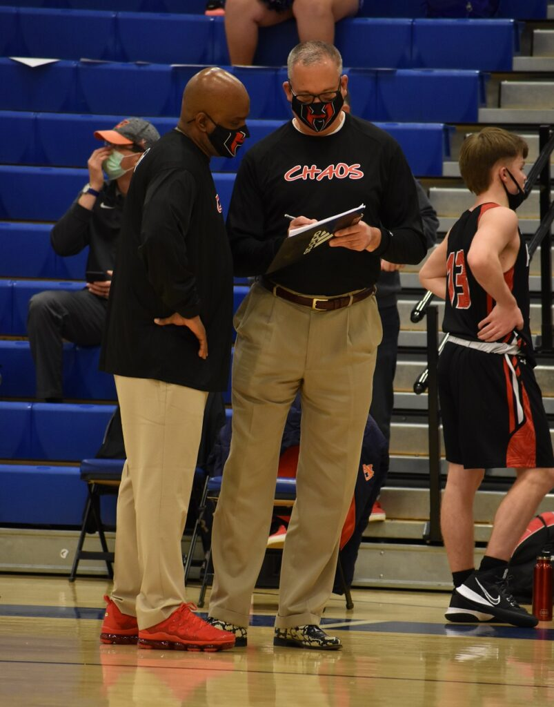 Down the stretch, Heritage coach William Hatchett especially wanted to stop Tusky sharp-shooter Jack Clark.